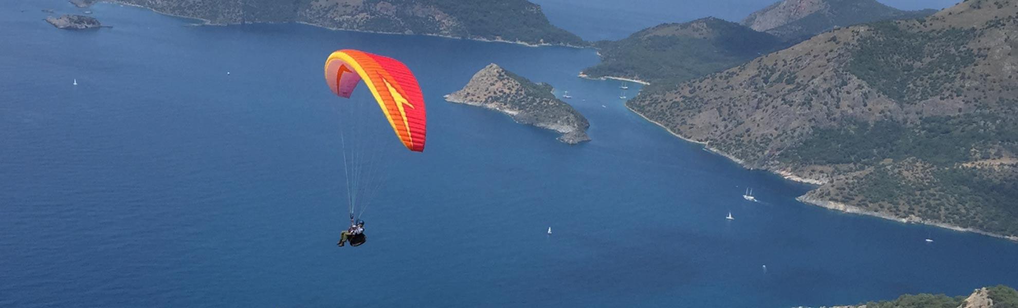 Leren paragliden Turkije