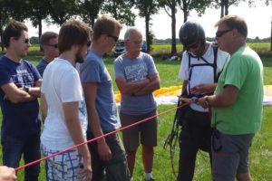 paragliding lieren Nederland