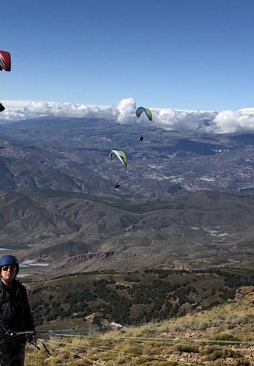 Spanje paragliden