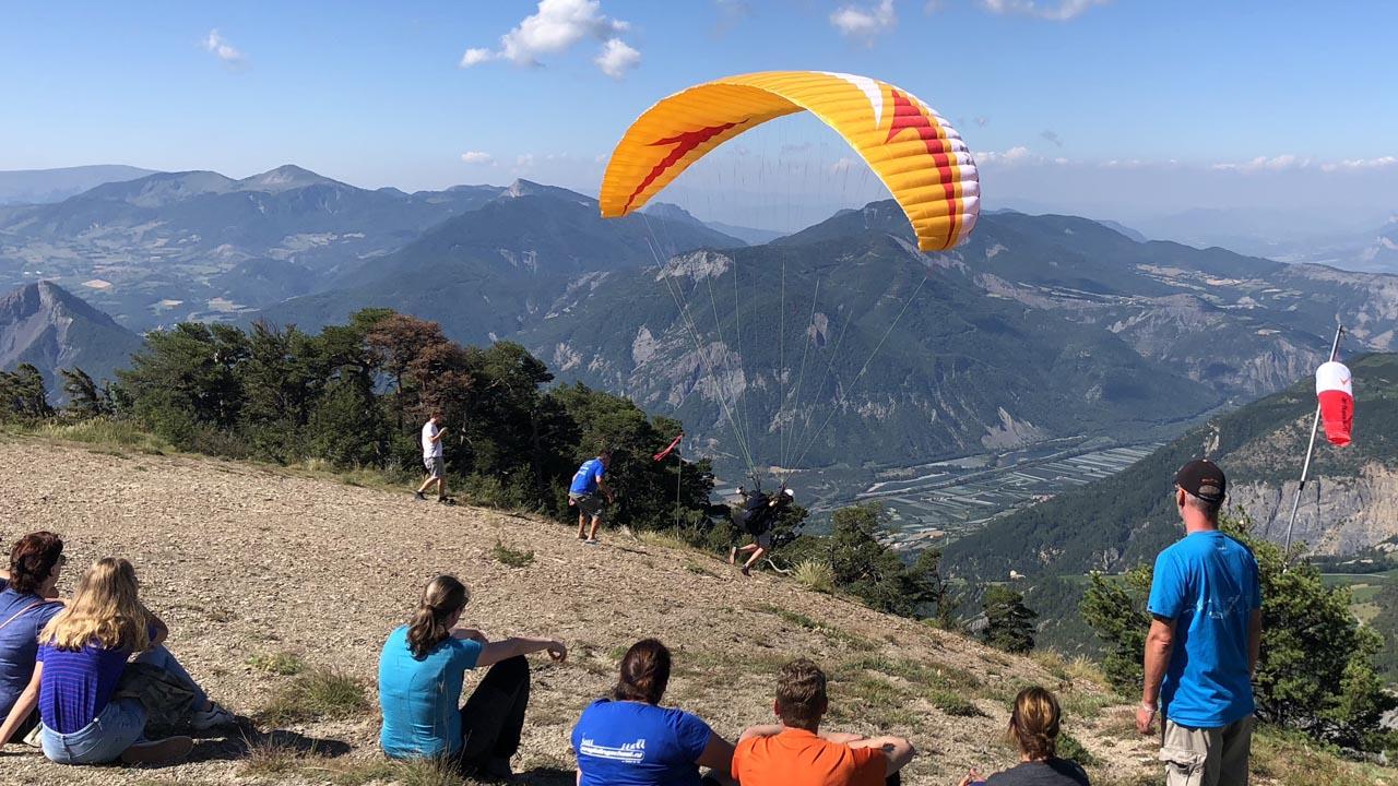 Frankrijk leren paragliden