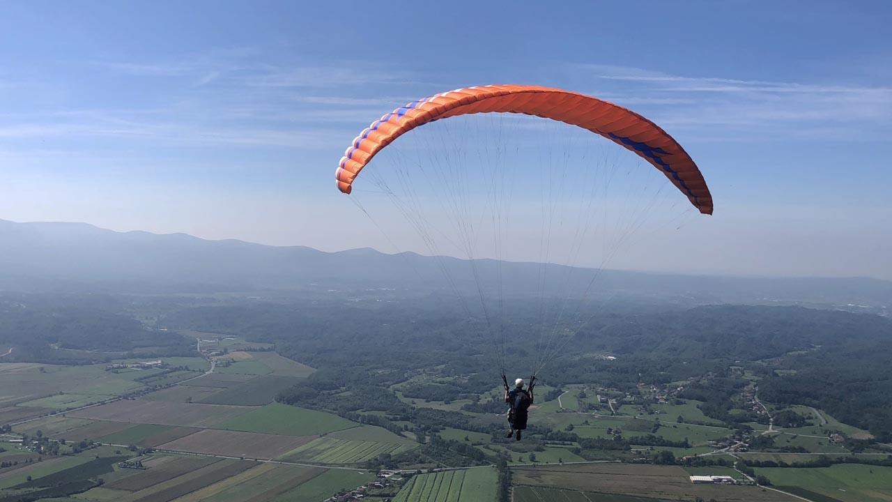 Slovenie paragliding cursus