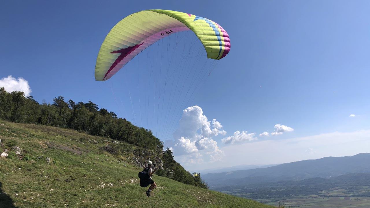 Lijak paragliden leren
