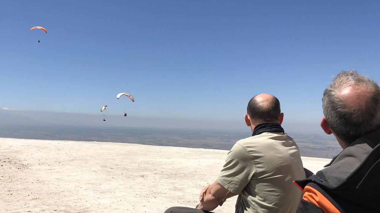 Marokko Aguergour paragliden