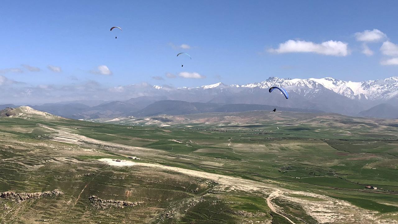 Marokko Atlas paragliden