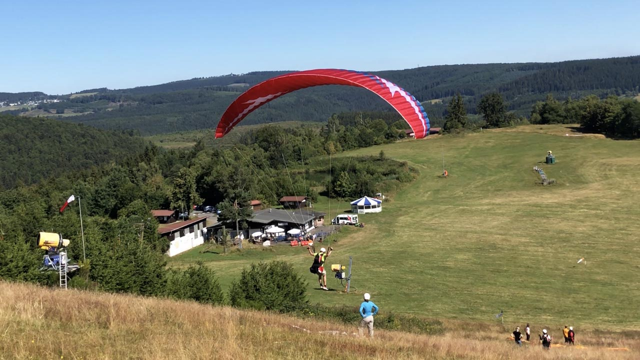 Sauerland weekend leren paragliding