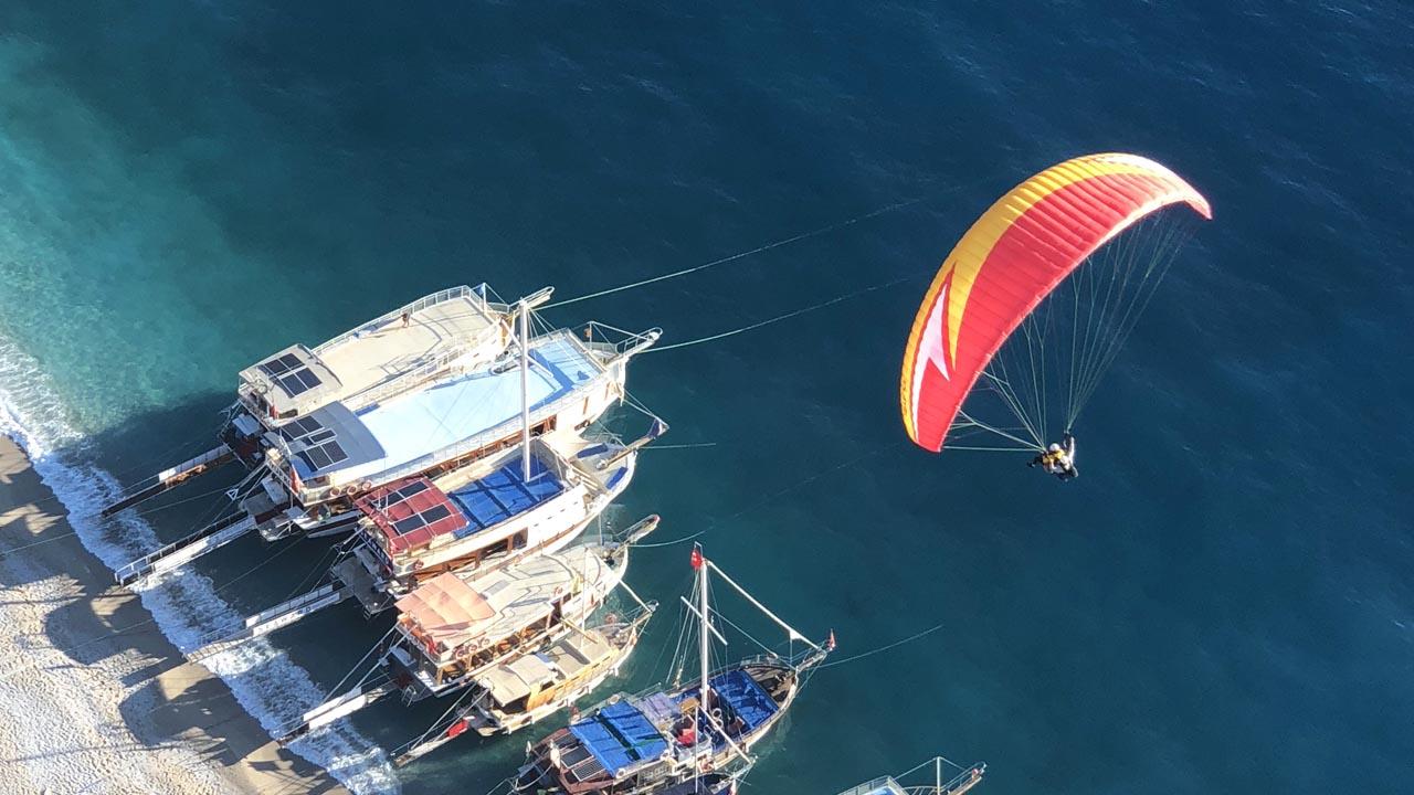 paragliding turkije