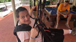 hoe begin het paragliden
