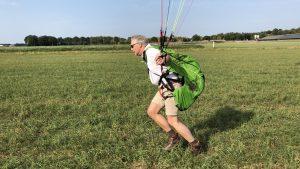 introdag paragliding grondoefeningen Almelo
