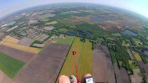 introdag vliegen paragliden Almelo