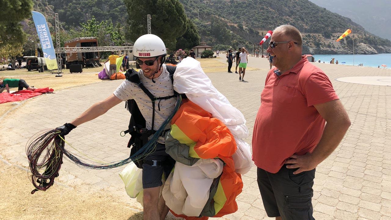 In turkije paragliden leren