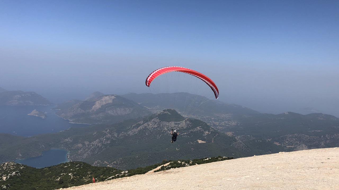 paragliden Babadag Turkije
