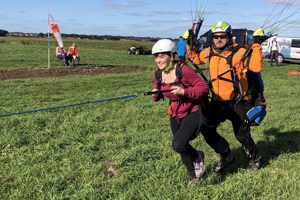 paragliding start Nederland