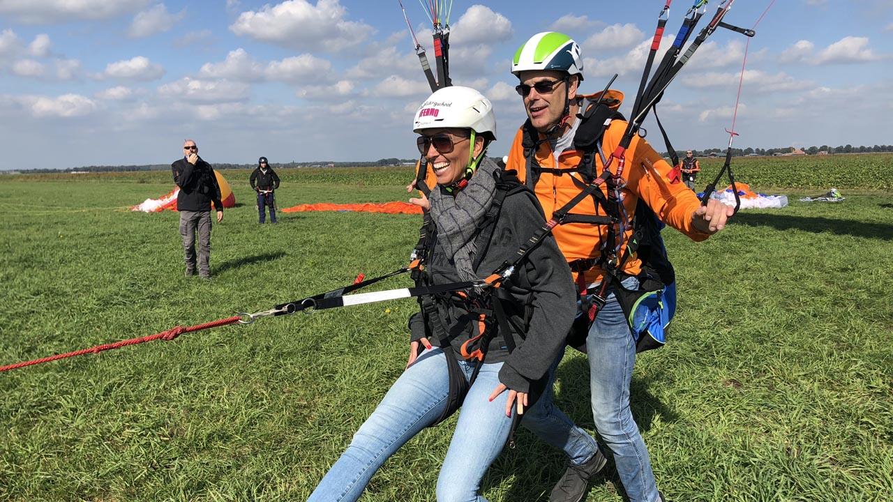 tandem paragliding nederland