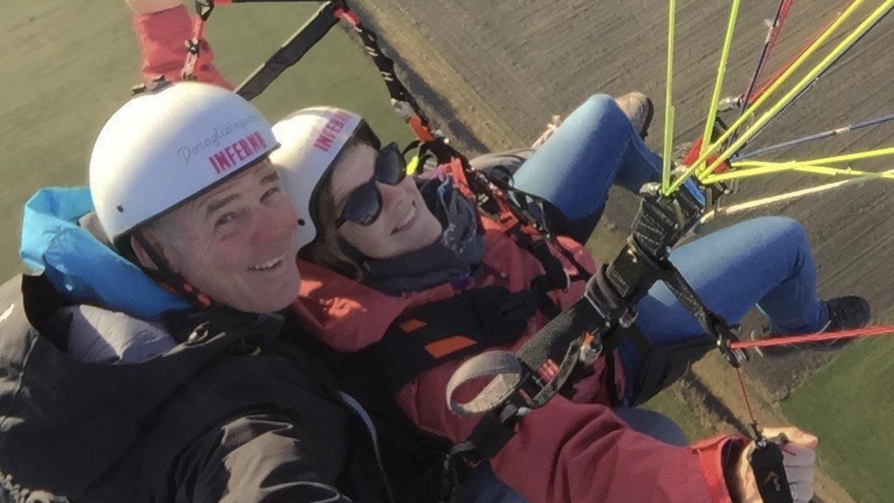 paragliden duosprong