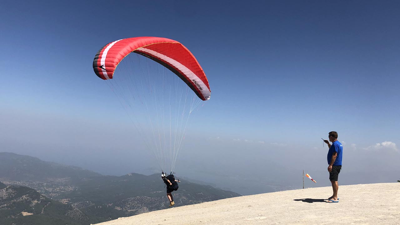 paragliding in turkije cursus