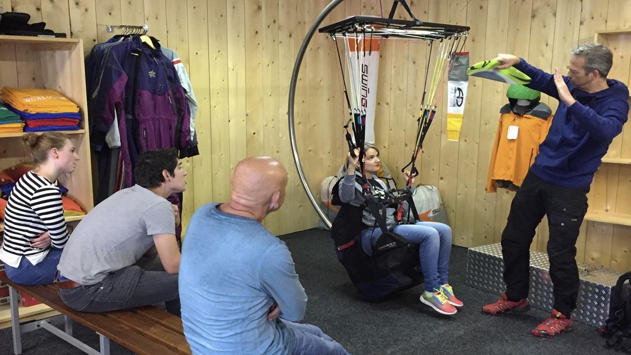 paraglidingschool paragliden
