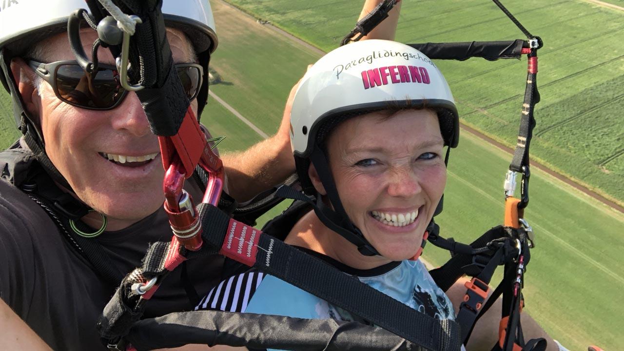 tandem paragliden Almelo
