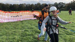 tandem paragliding in almelo