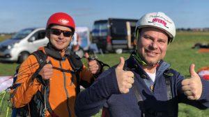 tandem paragliding nederland lier