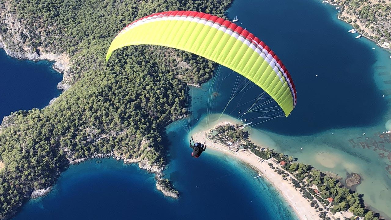 Turkije paragliding