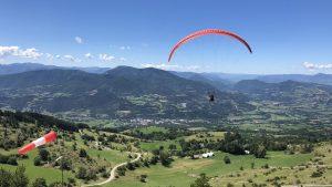 cursus paragliden leren Frankrijk