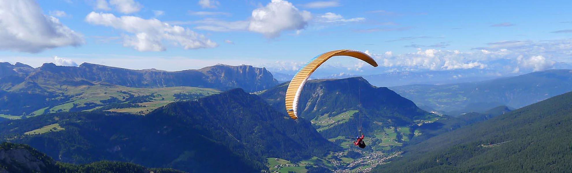 cursus paragliding Dolomieten