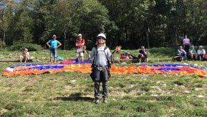 paragliden in Slovenie