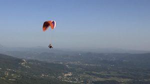 leren paragliden Slovenie