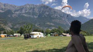 paragliden leren cursus brevet 2