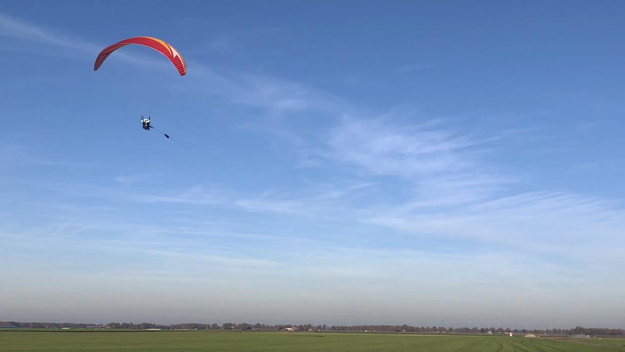paragliden tandemvlucht nederland