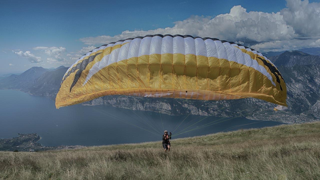 paragliden vlieguitrusting RAST start
