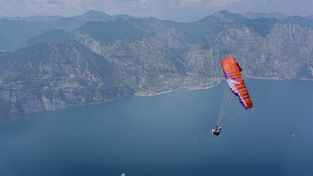 paragliden vlieguitrusting