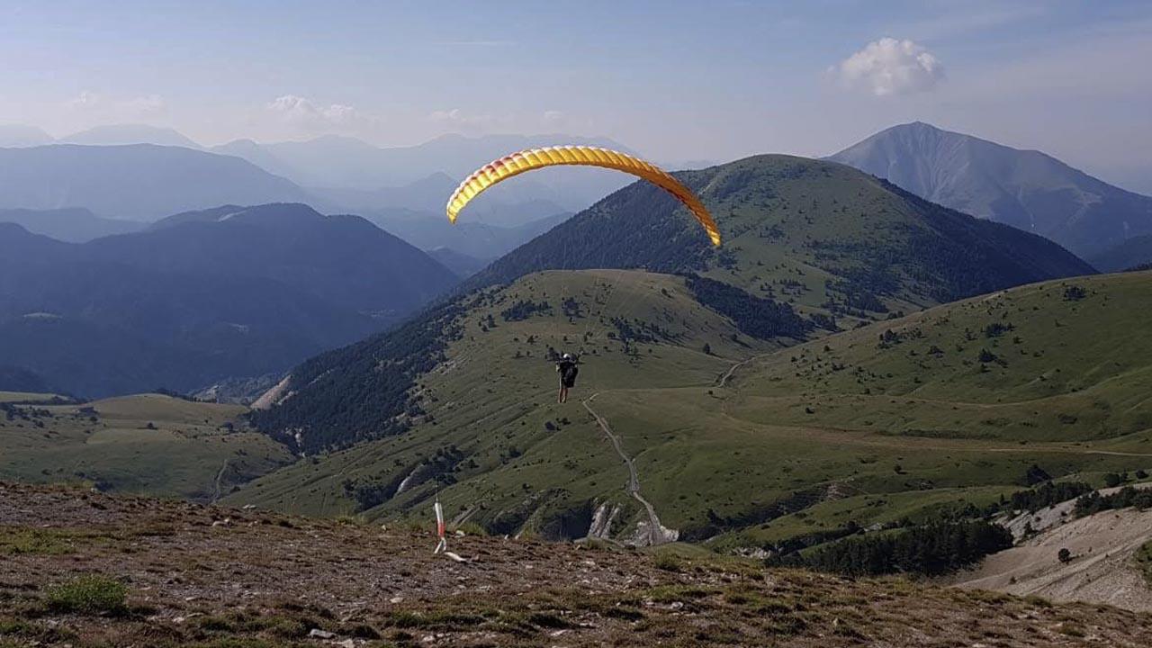 paragliding Frankrijk brevet 2