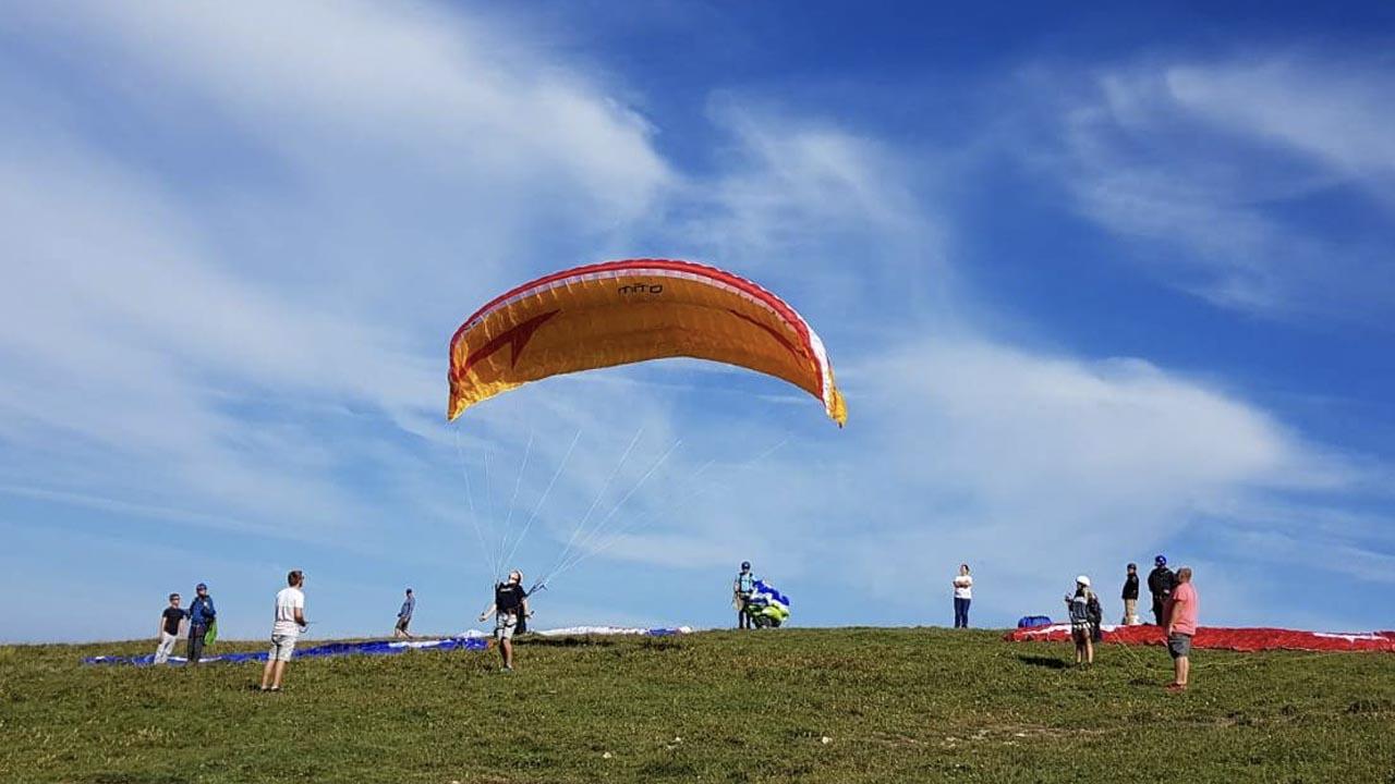 paragliding chabanon frankrijk