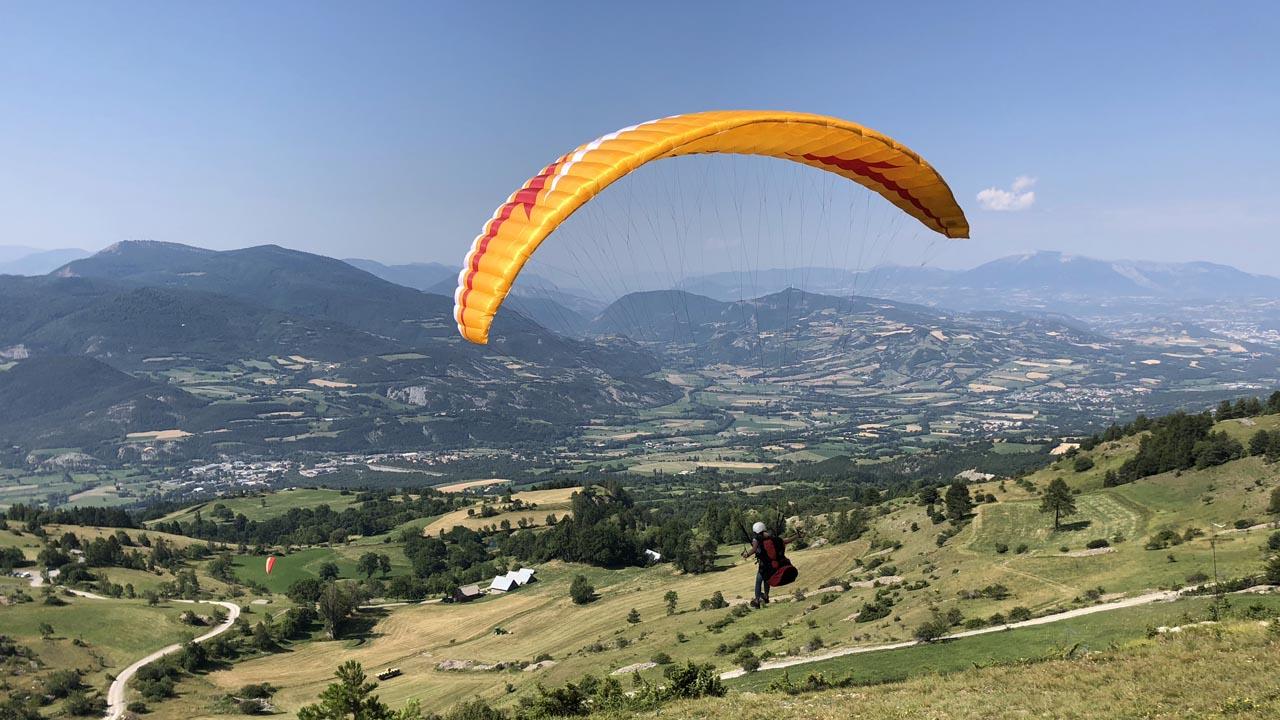 paragliding leren cursus brevet 2