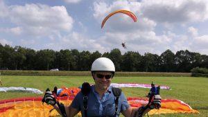 KNVvL paraglidingschool schermvliegen