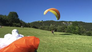 frankrijk paragliding leren waar