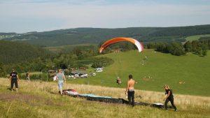 leren paragliden Sauerland