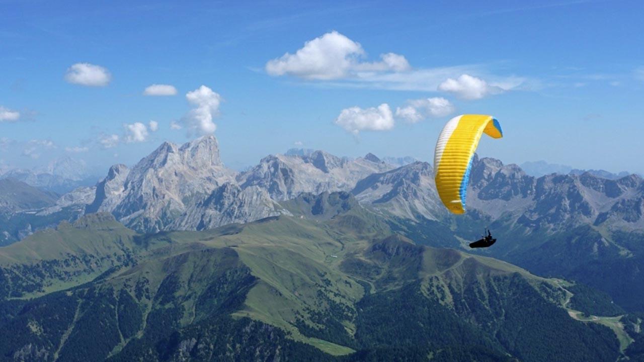 paragliden Dolomieten
