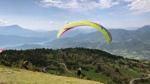 paragliden Lac de Serre Poncon
