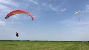 schermvliegen paraglidingschool KNVvL