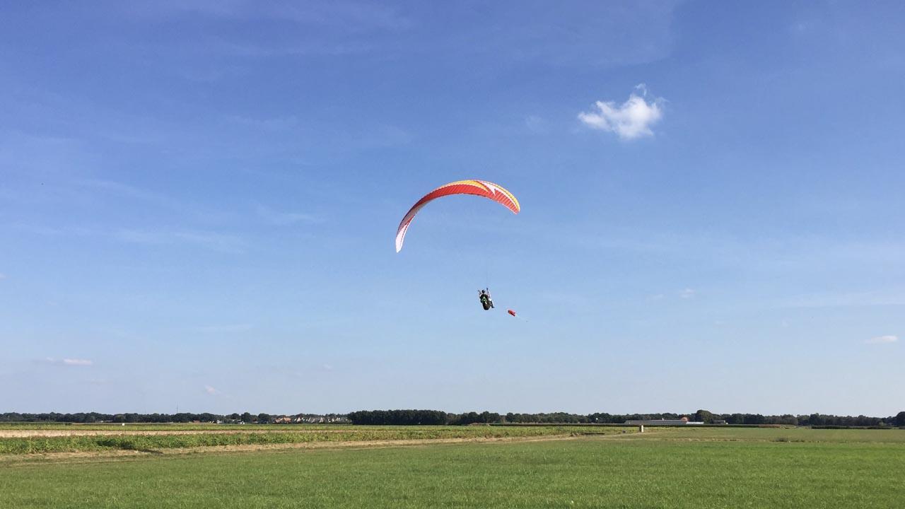 schermvliegen paraglidingschool