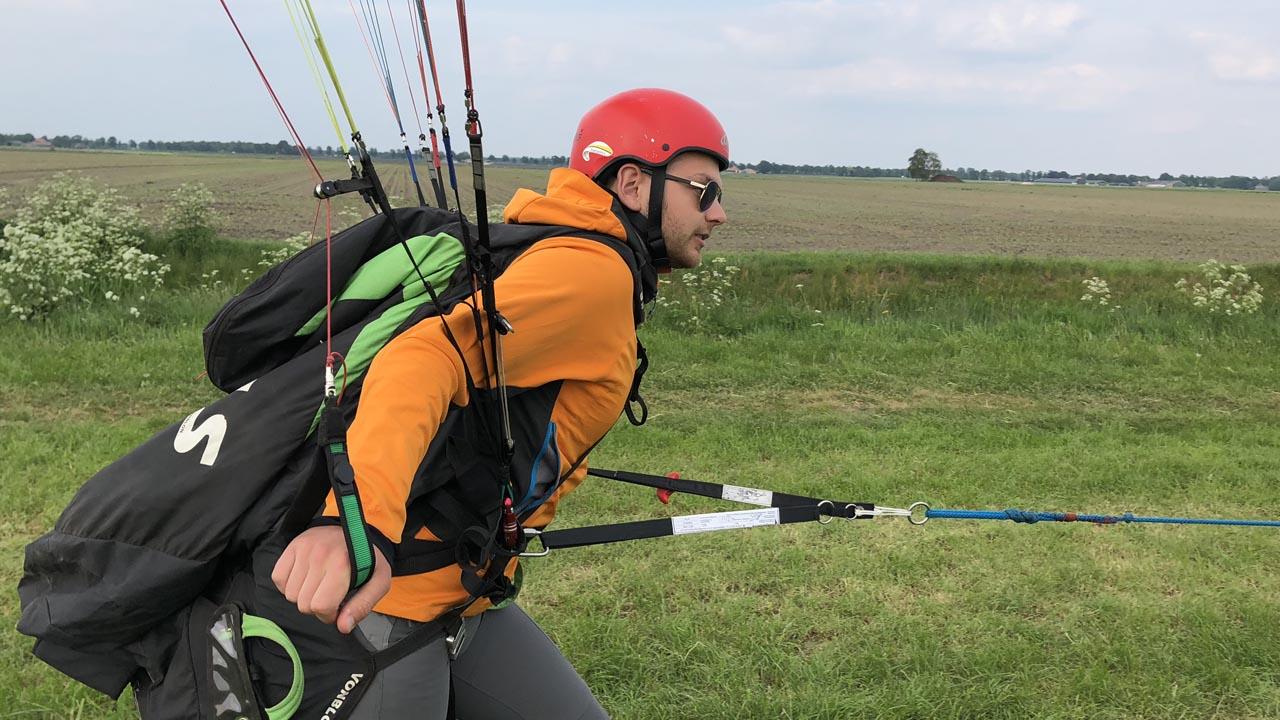 schermvliegers KNVvL paragliden school