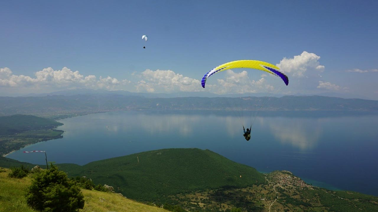 vliegsafari paragliden in Macedonie