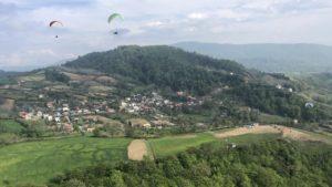 Iran paraglidingschool