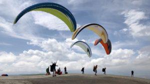 Marokko paraglidingschool Inferno