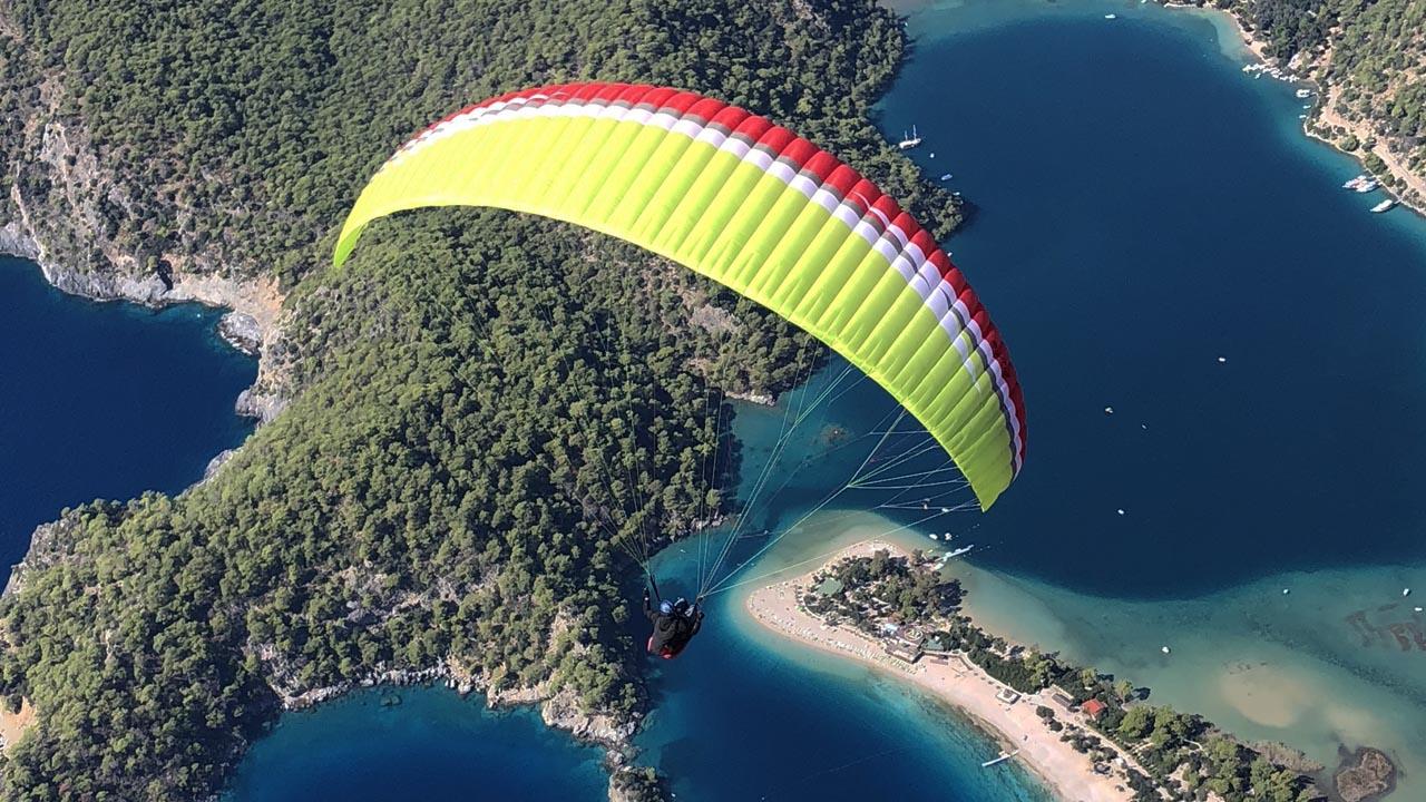 Turkije paraglidingschool Inferno